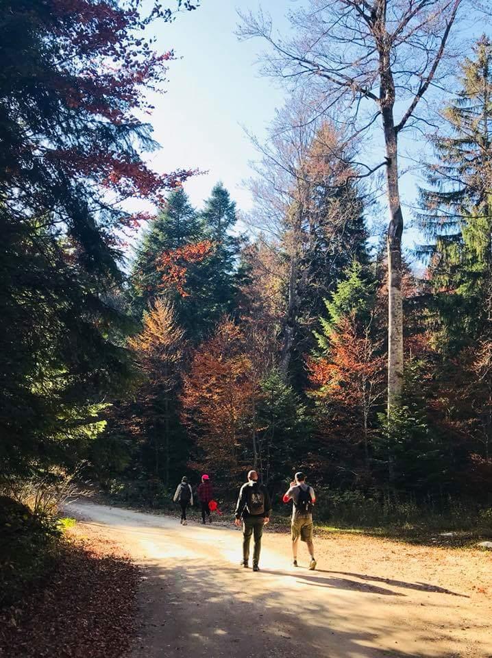 Autum in Serbia - hiking