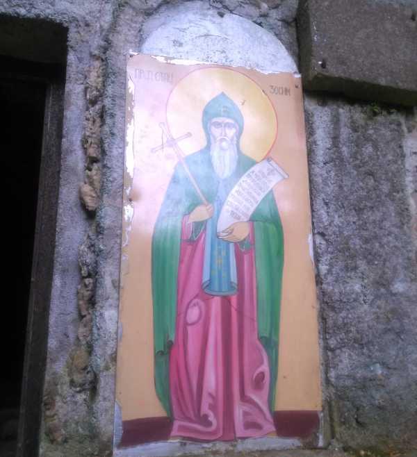 Monastery-Tumane-fresco