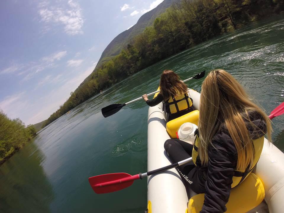 Drina river kayaking