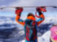 Old mountain skiing