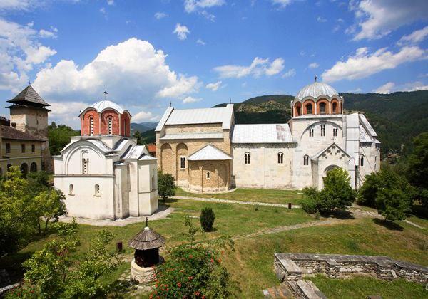 Studenica-monastery-summer