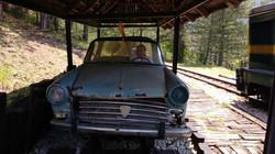 Sargan-eight-old-rail-car