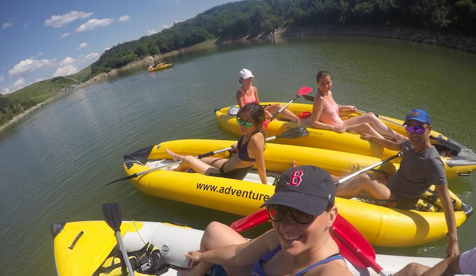 Uvac kayaking