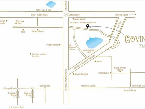 Govind Basil Map Location