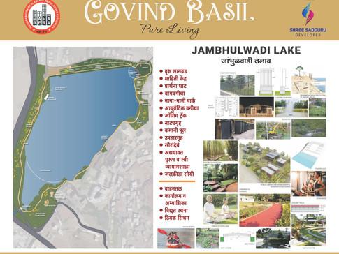 Places Near Jambhulwadi Lake