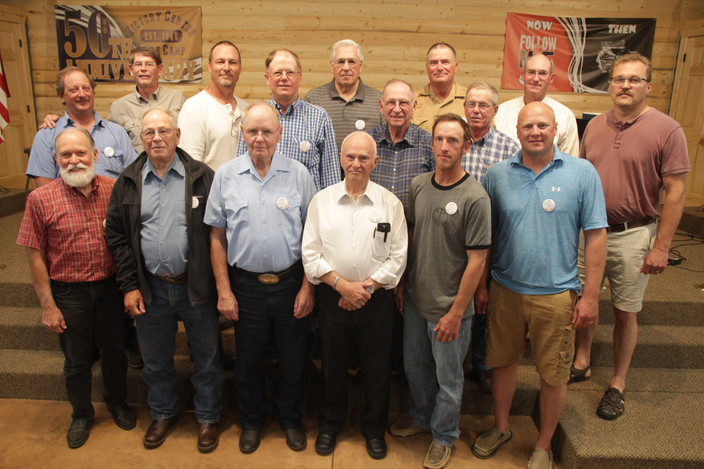 Past and Present camp board members