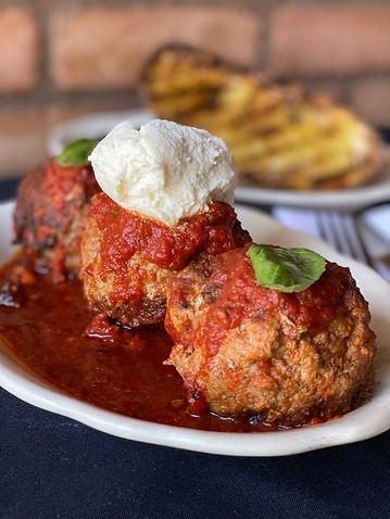Grano italian restaurant meatballs
