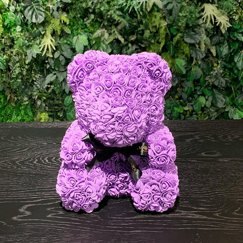 Purple Rose Teddy