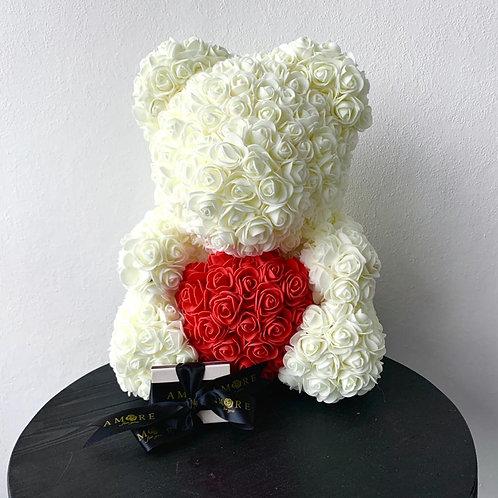 White Rose Teddy