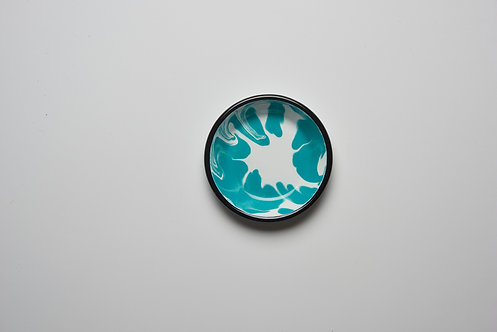 A Little Color Turquoise Green Mini Plate