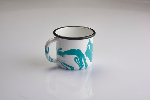 A Little Color Turquoise Green Mug