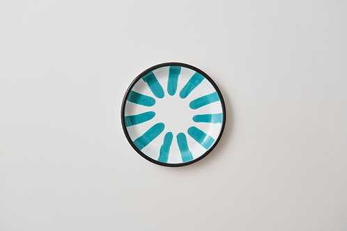 A Little Color Turquoise Green Dessert Plate