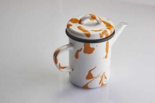 A Little Color Yellow Teapot