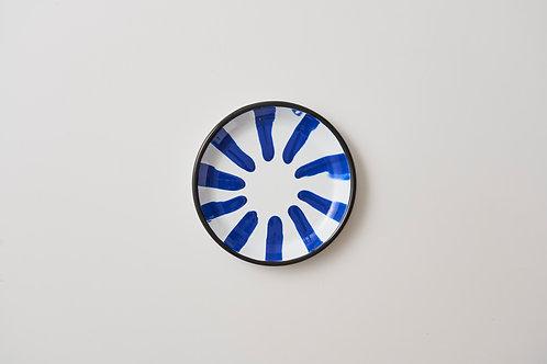 A Little Color Blue Dessert Plate