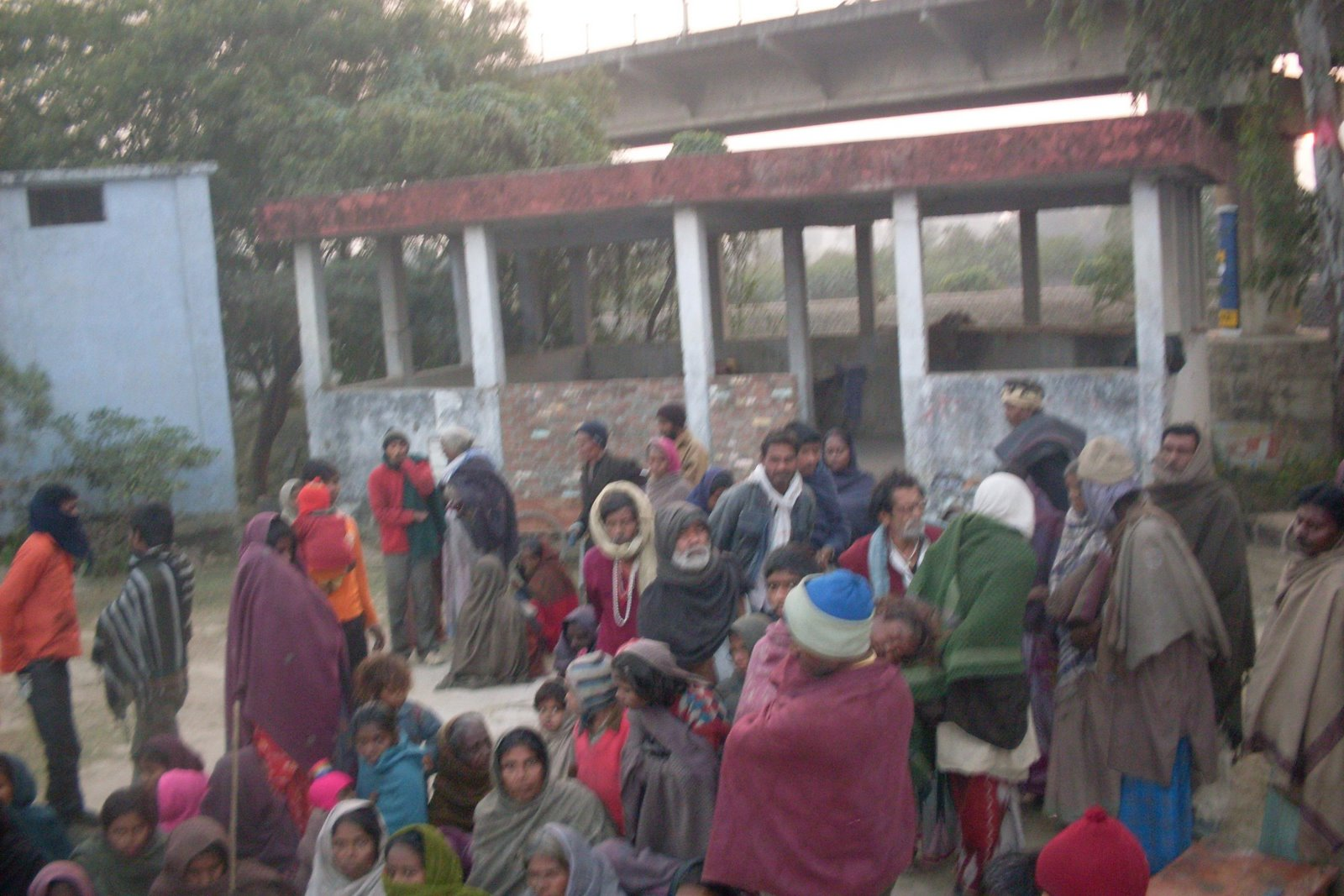 Community on the outskirts of Deoria City in Deoria District(U.P