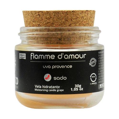 Vela Flamme D'Amour linha Sado