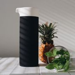 Naturally Cooling Carafe - White Line