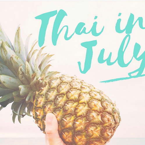 Thai in July Recipes