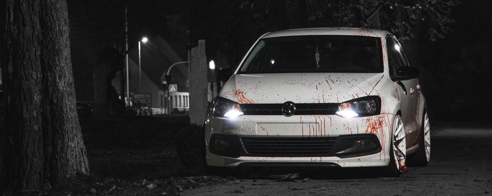 VW Polo 6R - Halloween Wallpaper