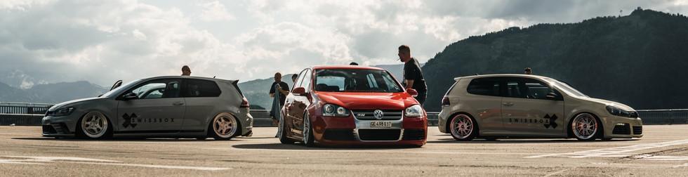 VW Golf Generations - Wallpaper