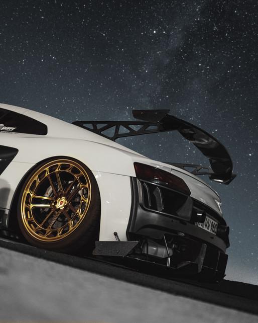 Audi R8 - Wallpaper