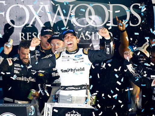 Turning the Season Around: Aric Almirola's Win at New Hampshire Motor Speedway