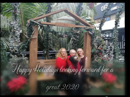 Happy Holidays looking forward to a great 2020