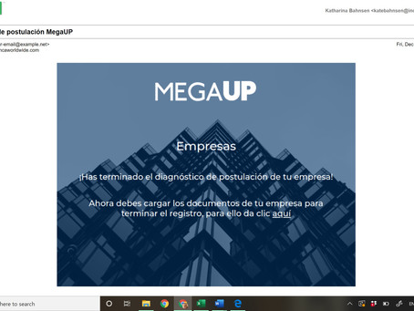 GMS has been invited to be part of the MEGAUP project in Colombia.