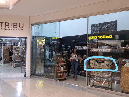 First sales at Tribu the store at the Oviedo Mall in Medellin
