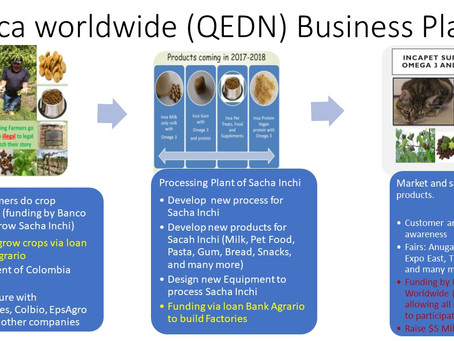 Updates on Inca Worldwide (QEDN) and Cacique Mining (GEGI)
