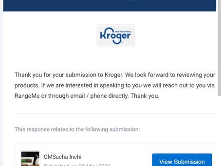 GMSacha Inchi has applied to Kroger -Go -Fresh -Local - Supplier -Accelerator $QEDN $GEGI