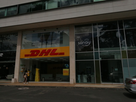 First shipment of Rainforest Treat deliver to DHL