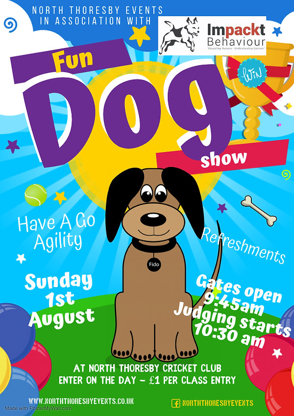 Dog Show poster - Made with PosterMyWall