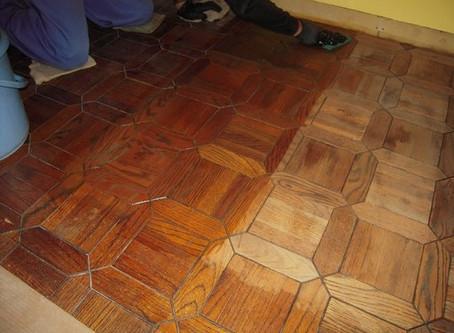 床材のリペア