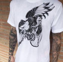 White Lotus Eagle Tee