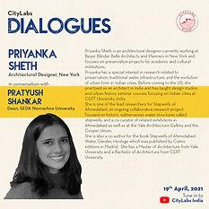 Dialogues with Priyanka Sheth- Instagram