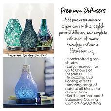 Premium diffusers