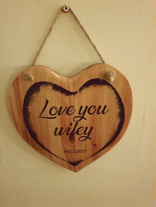 Love You Wifey | £10