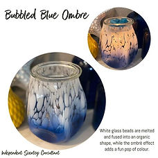 Bubbled - Blue Ombre £61