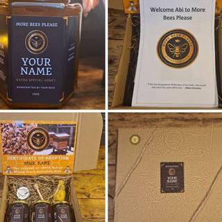 Personalised Honey Jars