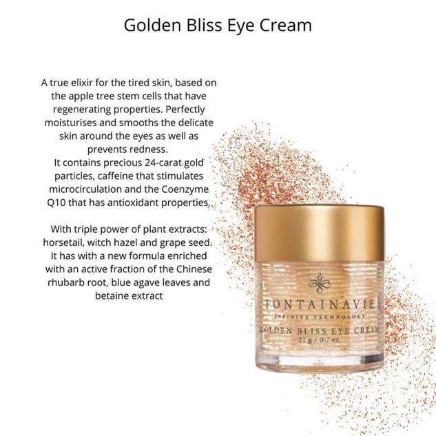 Golden Bliss Eye Cream