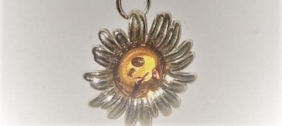 """Sterling Silver 16"""" natural Amber necklace"""