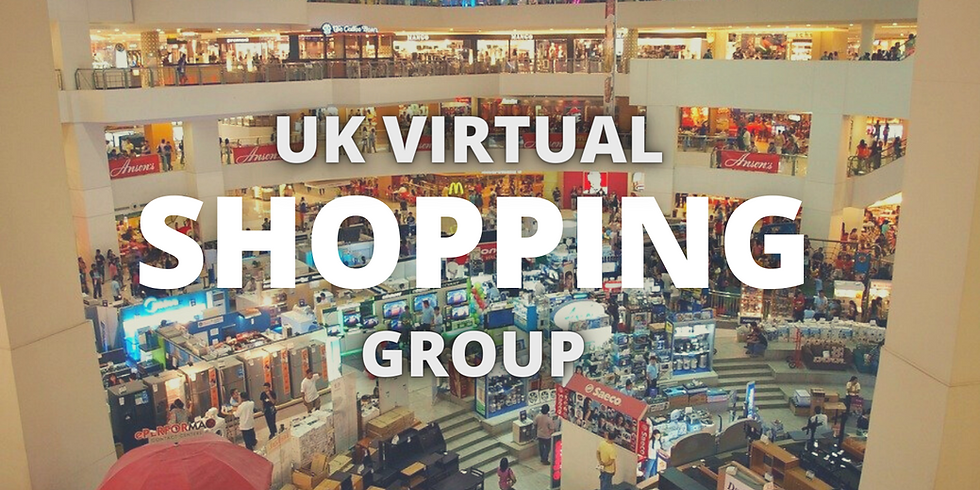 UK VIRTUAL SHOPPING GROUP | Spring Fair | Father's Day | Summer Fair