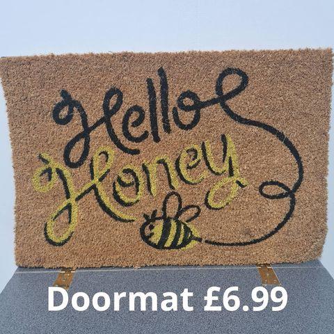 Hello Honey Doormat.jpg