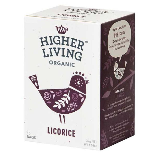Higher Living Licorice Tea £2.49
