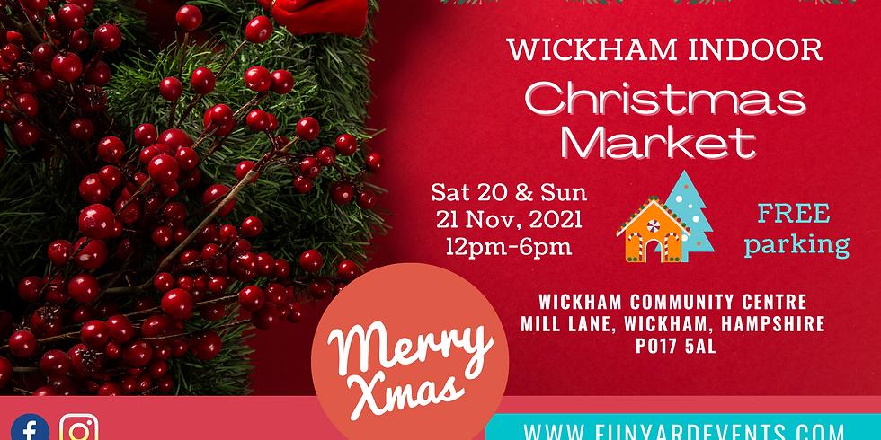 WICKHAM CHRISTMAS MARKET   Nov 2021