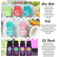 Wax Bar, Pods and Oils
