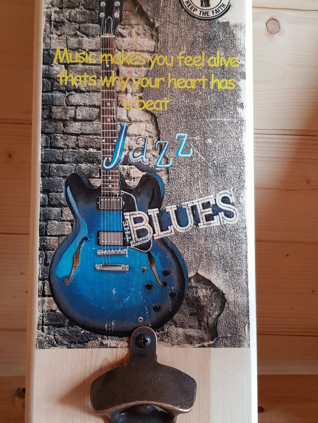 Blues Music Standard Bottle Opener | £15
