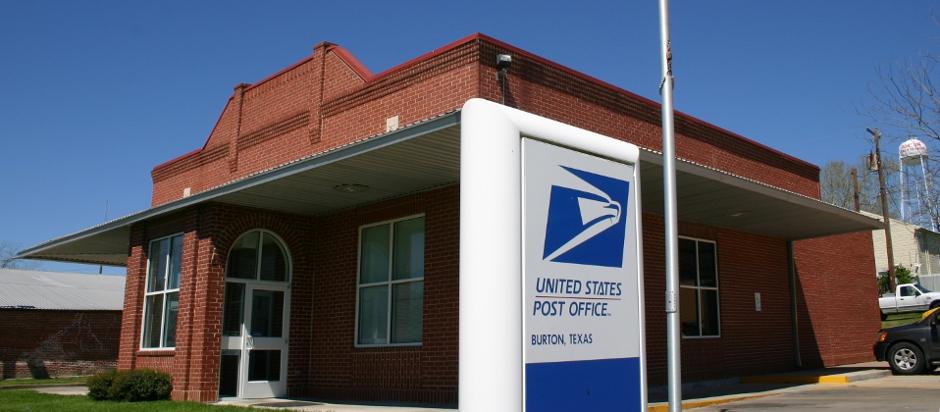 USPS Post Office - Burton, Texas