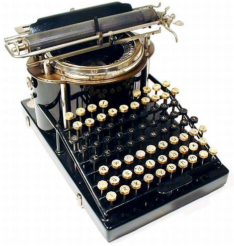 earliest-typewriter-331-best-typing-pool